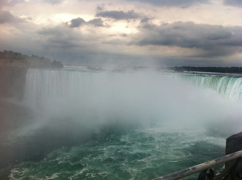 Motorcycle to Niagra Falls