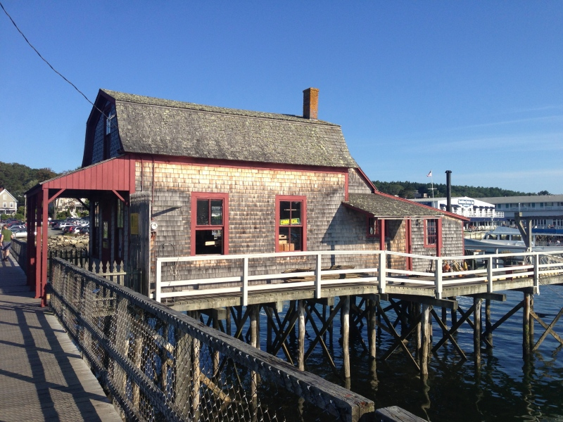 House in the middle of Boothbay Harbor for sale = $800k