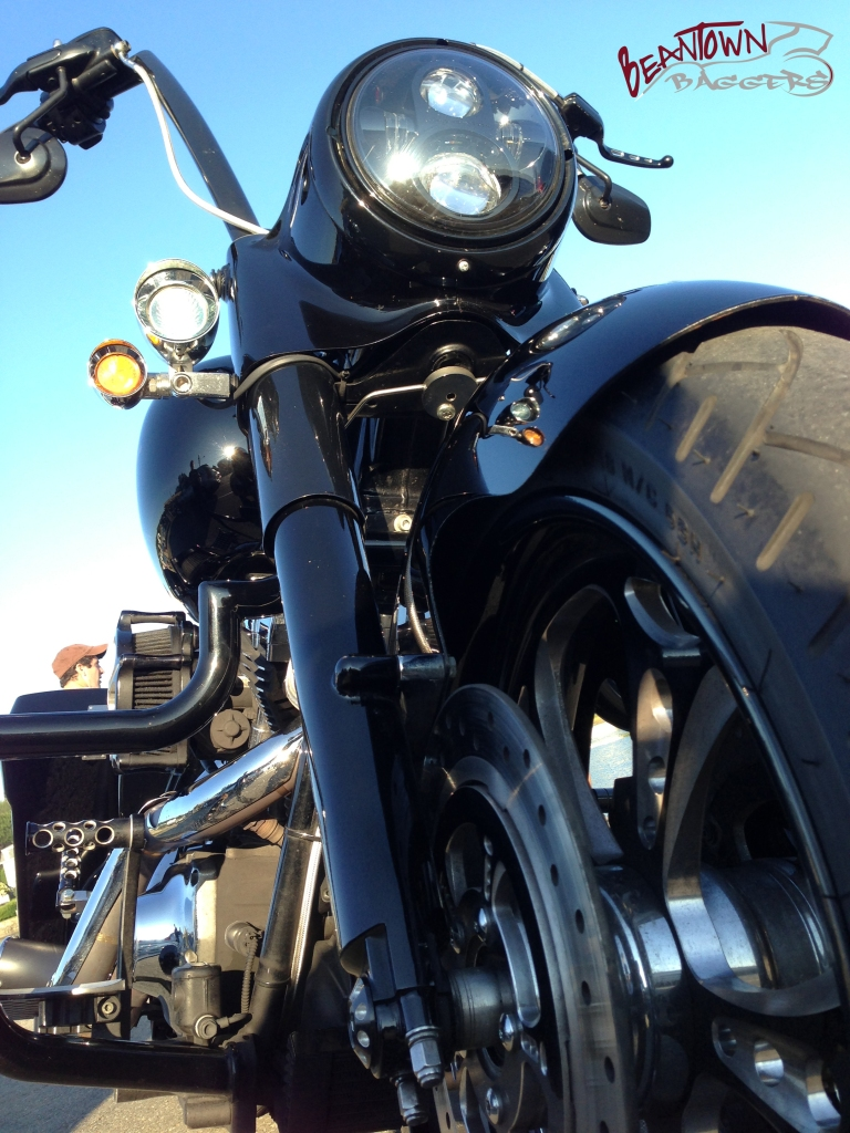 Headwinds fog lamps and directionals as well as a Road King Daymaker Headlamp