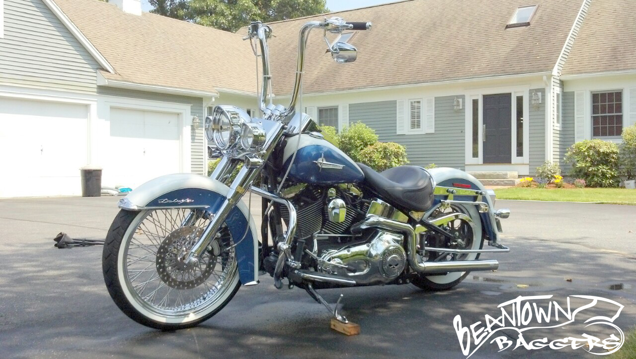 2005 softail deluxe – Contest Entry   Beantown Baggers