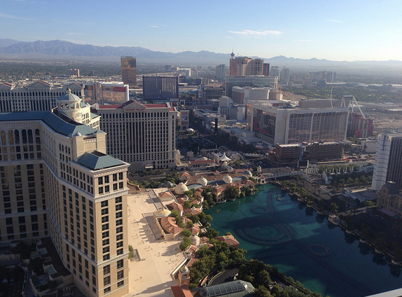 view vegas morning