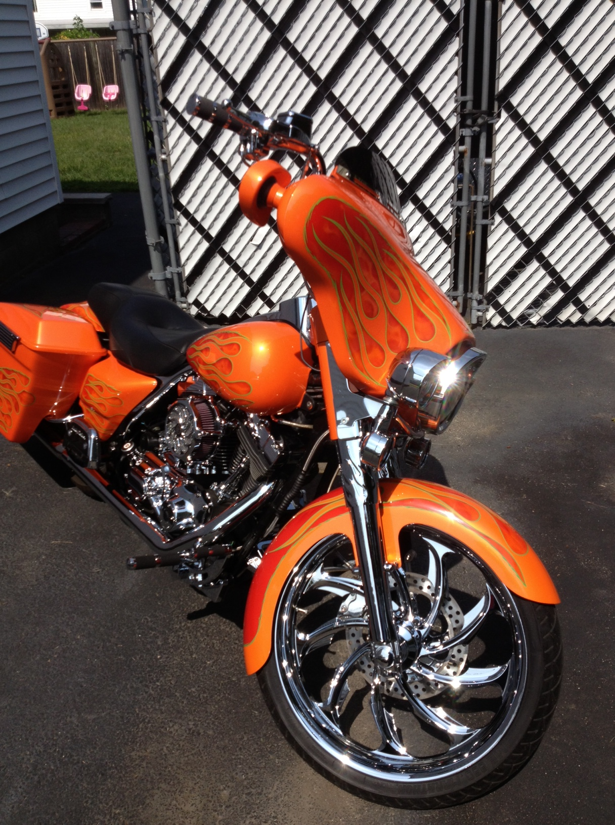 2002 Electra Glide Classic Contest Entry Beantown Baggers