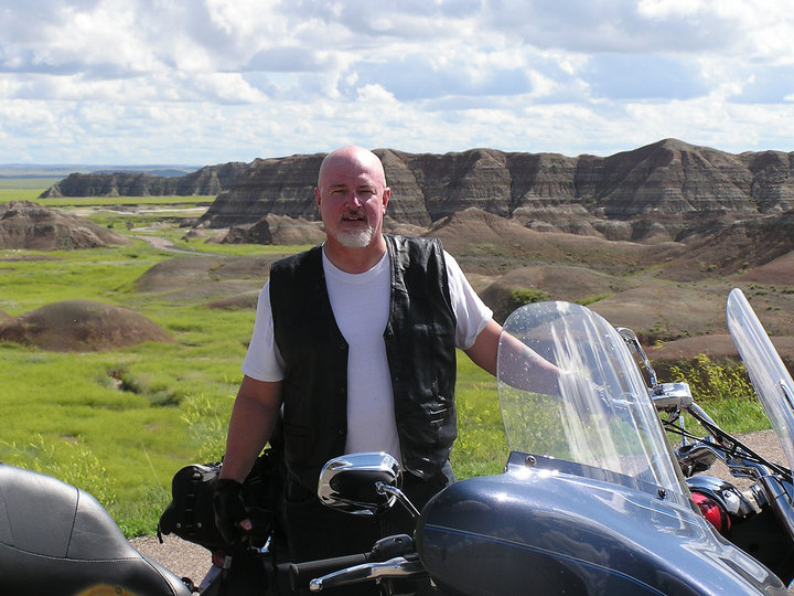 Doug Fayle in the Badlands
