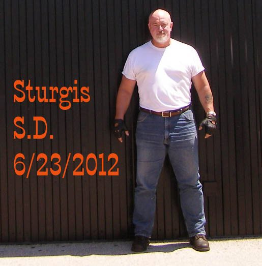 Doug Fayle at Sturgis Motorcycle Week in 2012