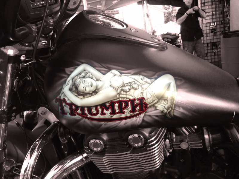 Triumph from Sturgis