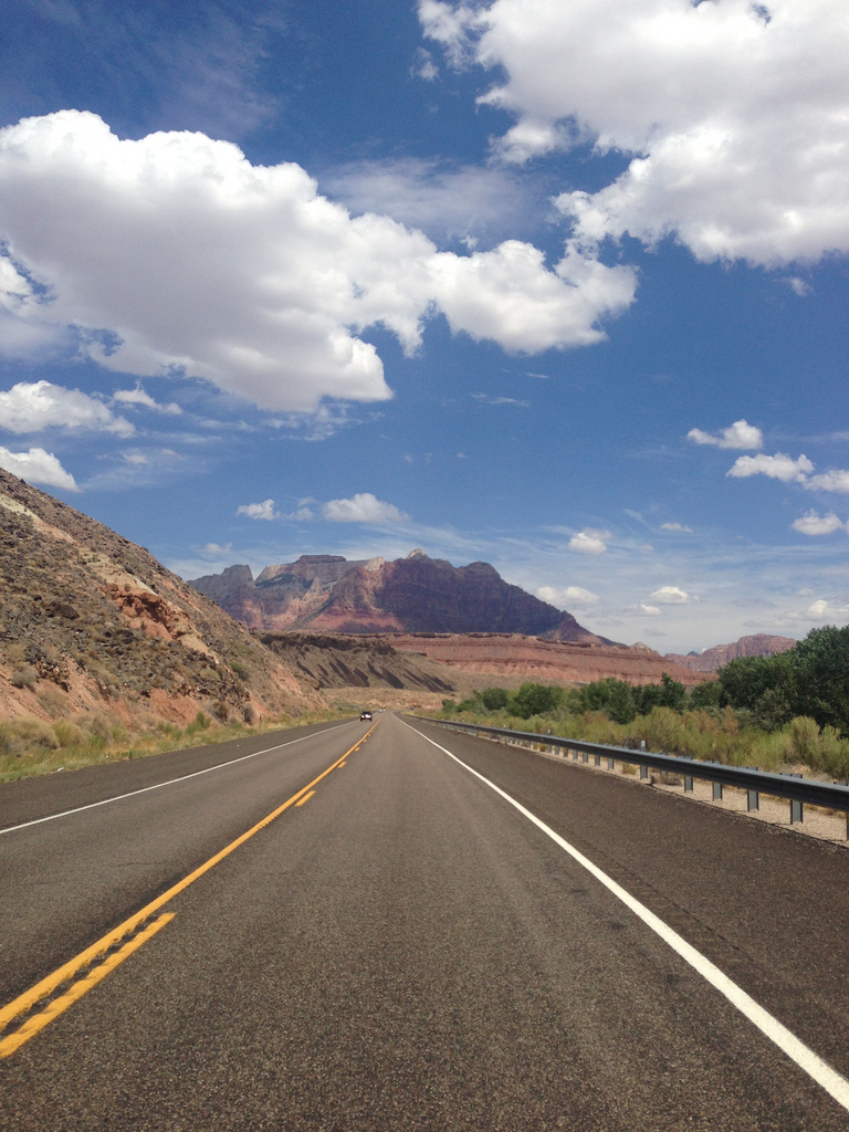Vegas Roads before zion