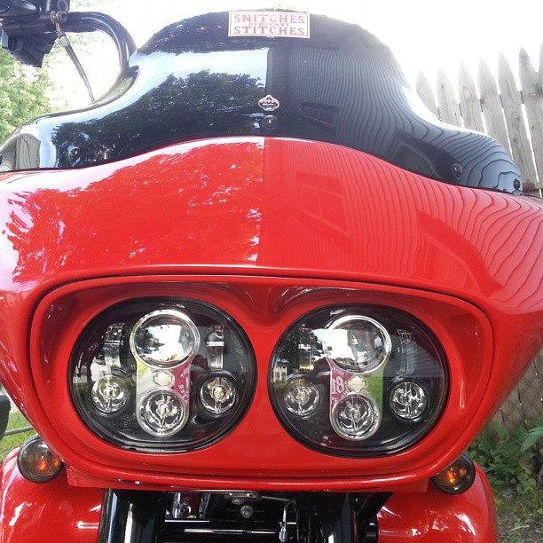 Added some Harley Davidson Daymaker lights