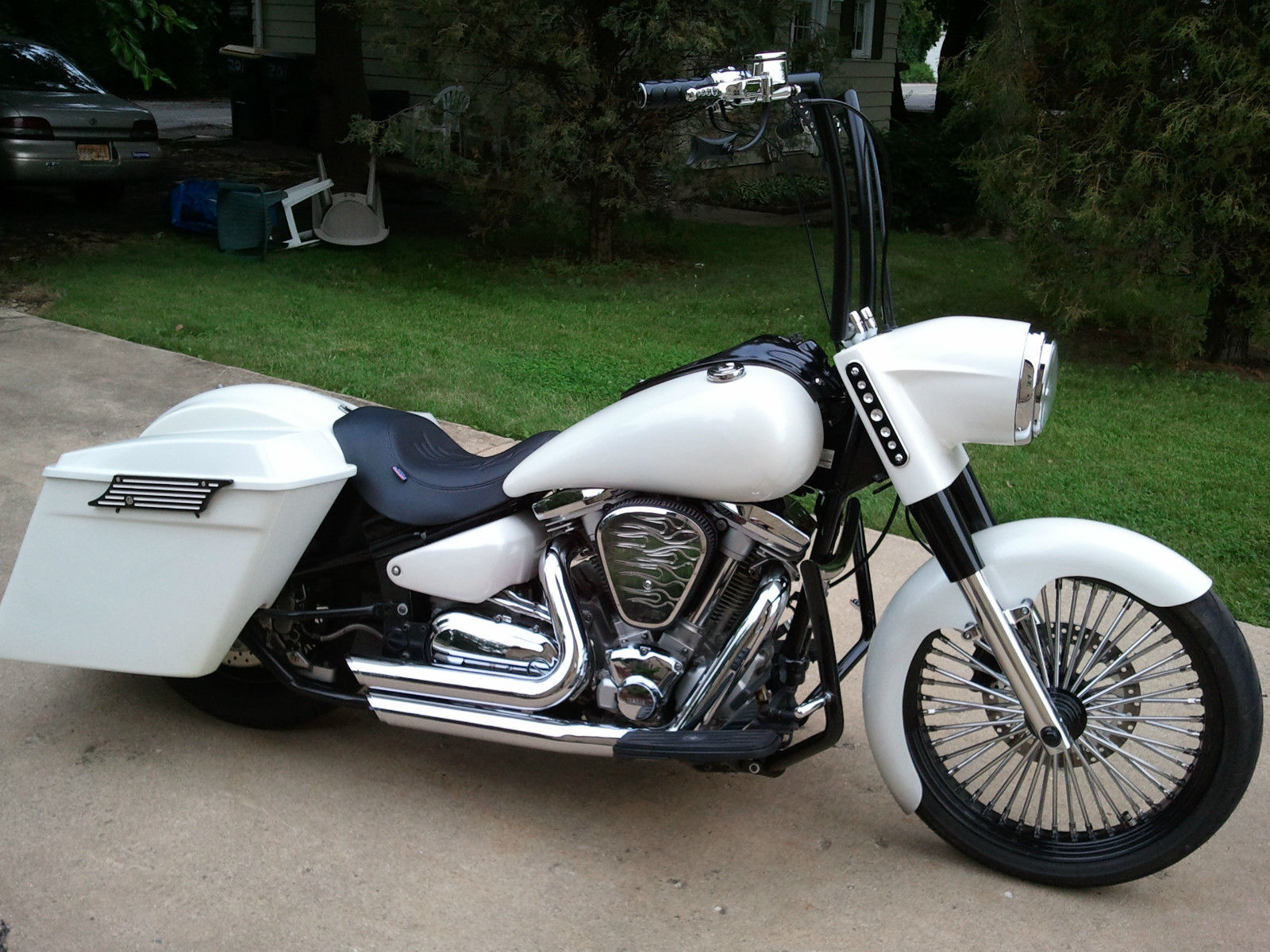 Custom yamaha roadstar bagger images for Yamaha bagger motorcycles