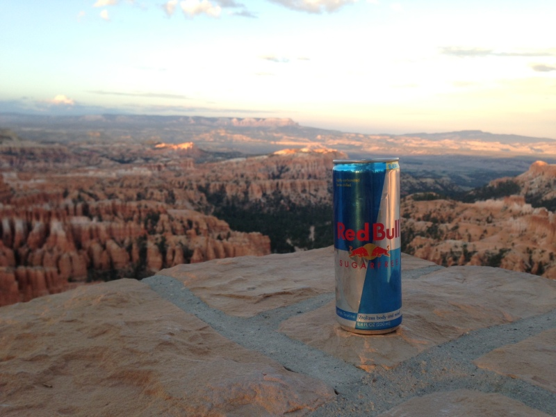 Red Bull at Bryce Canyon