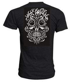 charcoal skull back