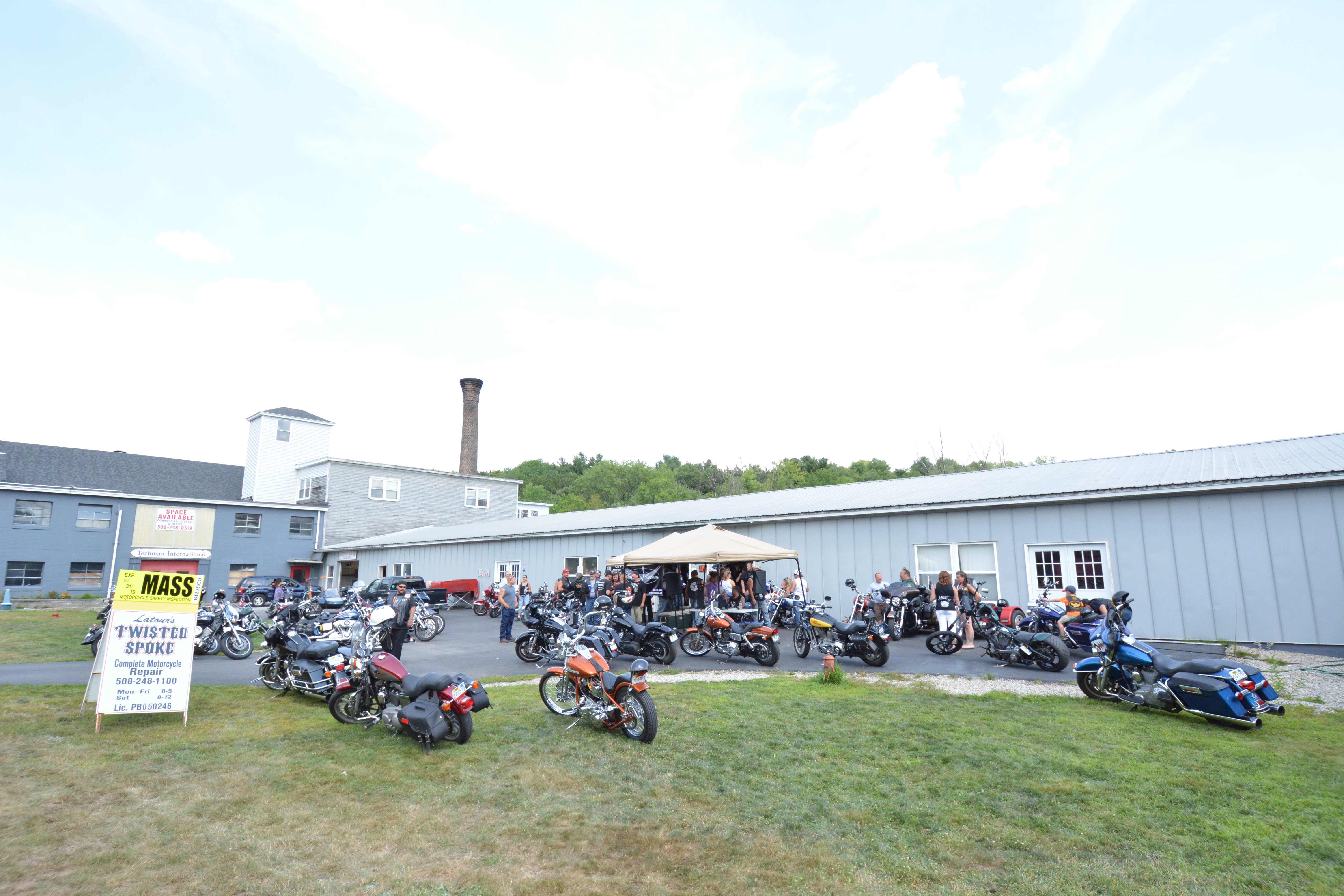 Motorcycles Ride Work Day 2014