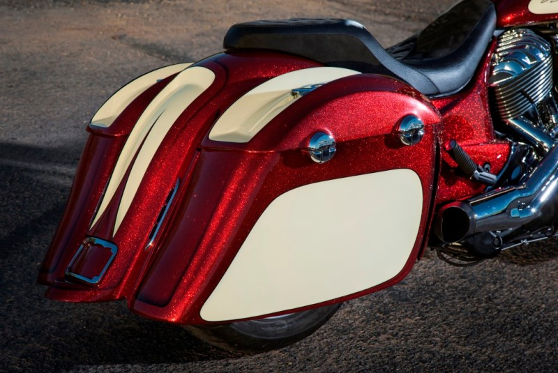Custom Indian Motorcycle built by John Shope's Dirty Bird Concepts.
