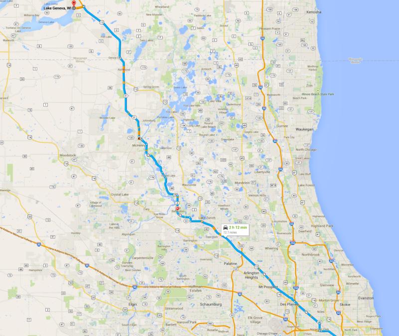 map to lake geneva