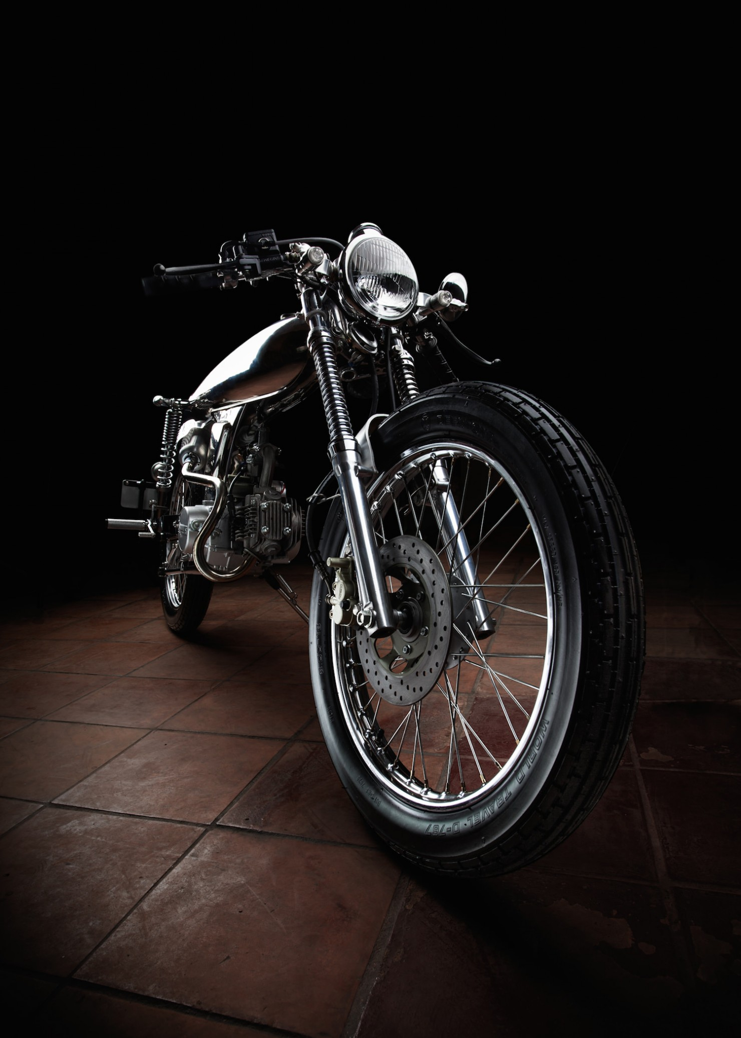A Sub-500cc Motorcycle With Steam
