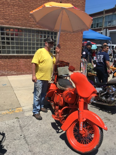 Orange Bagger this year at Motoblot
